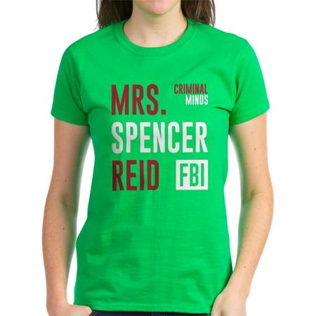 CafePress - Criminal Minds Mrs Spencer Reid T-Shirt - Women's Dark T-Shirt