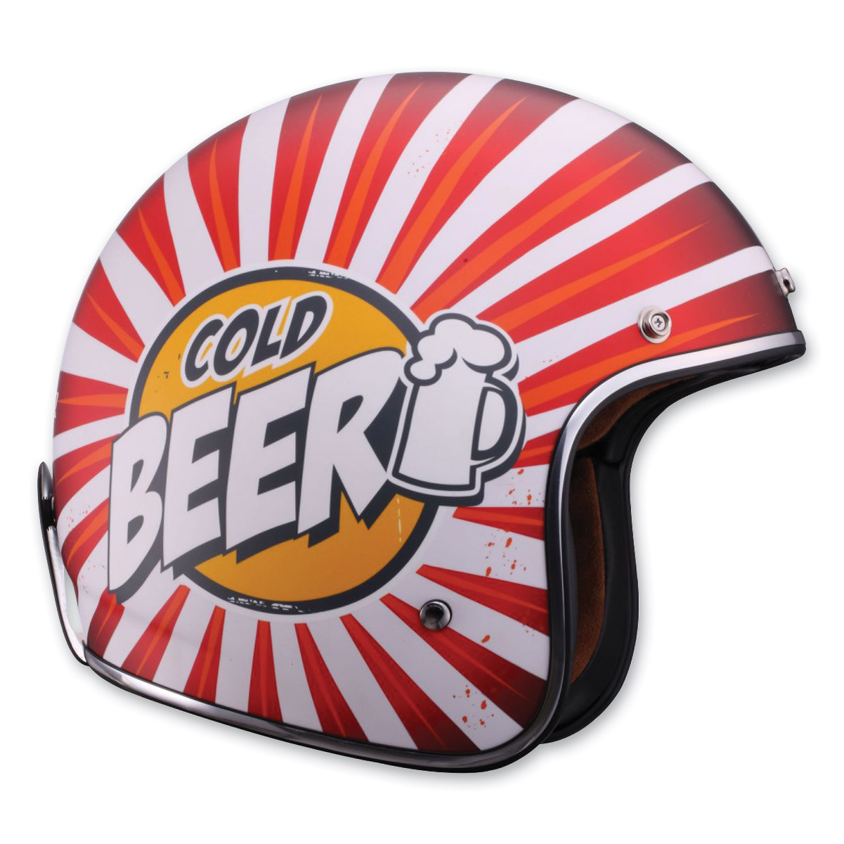 LS2 OF583 Cold Beer Open Face Helmet, XS