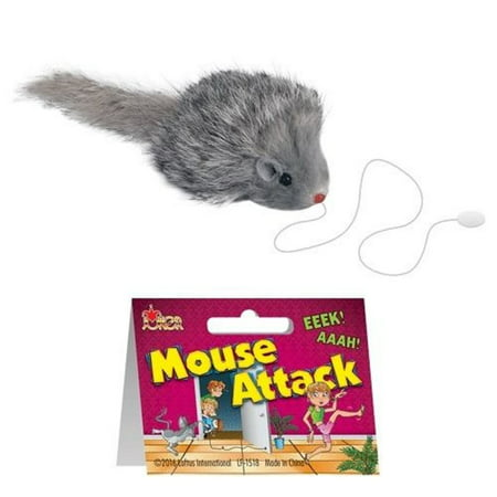 Mouse Rat Attack Funny Practical Joke Gag Gift Prank Novelty Trick Decor](Best Halloween Tricks Pranks)