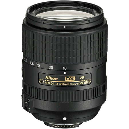 Nikon 18-300mm f/3.5-6.3G VR DX ED AF-S Nikkor-Zoom (Best Lenses For Nikon Dx Format)