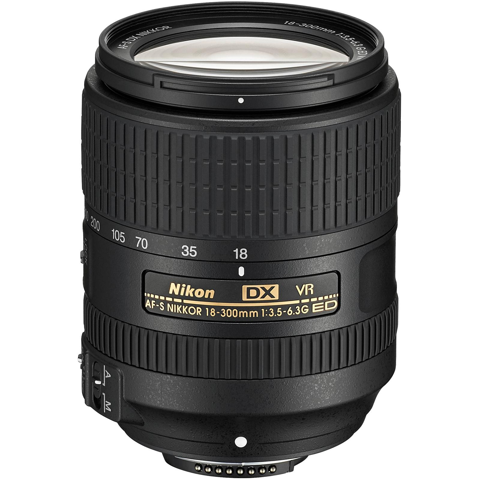 Nikon 18-300mm f/3.5-6.3G VR DX ED AF-S Nikkor-Zoom Lens