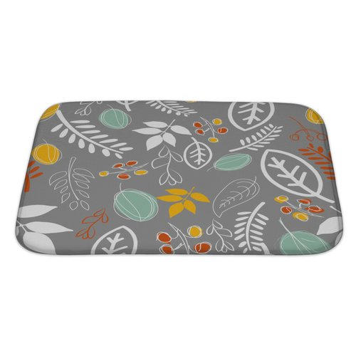 Gear New Leaves Leaf Pattern Bath Rug