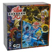 Bakugan Battle Brawlers Cartoon Network Sure-Lok 100 Piece Puzzle