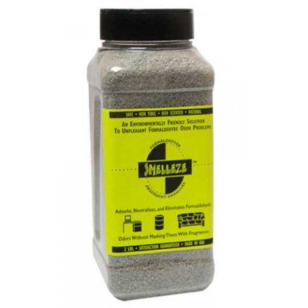 Absorbent Granules - SMELLEZE Eco Formaldehyde Cleanup Absorbent & Deodorizer: 50 lb. Granules