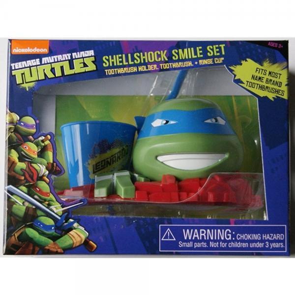 Nickelodeon Teenage Mutant Ninja Turtles Leonardo Great Smile Set