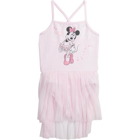 Disney Princess Toddler Girls' Ballet Minnie Mouse Pink Camisole Dress - Dress Up As A Disney Character