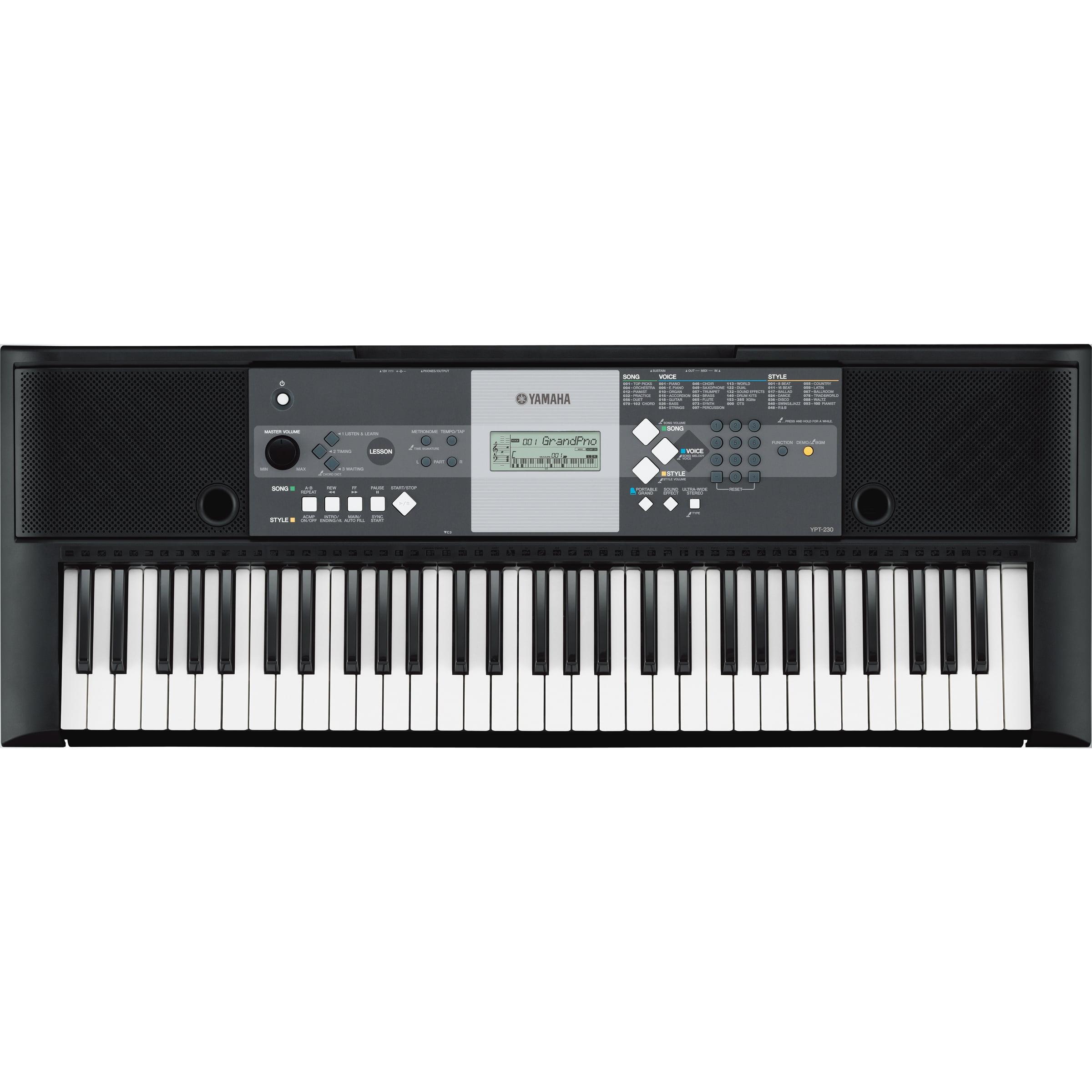 White Christmas 2020 Act 1 Ypt Yamaha Ypt 230 61 key Personal Keyboard   Walmart.  Walmart.com