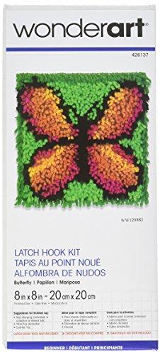 Wonderart Little Fawn Latch Hook Kit 8 X 8