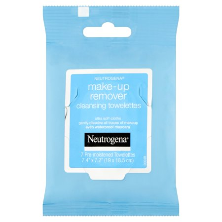 Neutrogena Cleansing Towellettes Make-Up Remover, 7 count