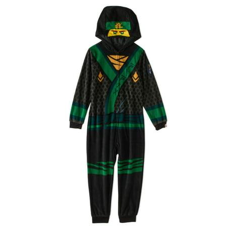 Ninjago Boys' Hooded Pajama Onesie Union Suit