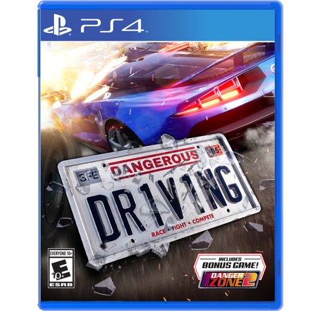 Dangerous Driving, Maximum Games, PlayStation 4, REFURBISHED/PREOWNED ()