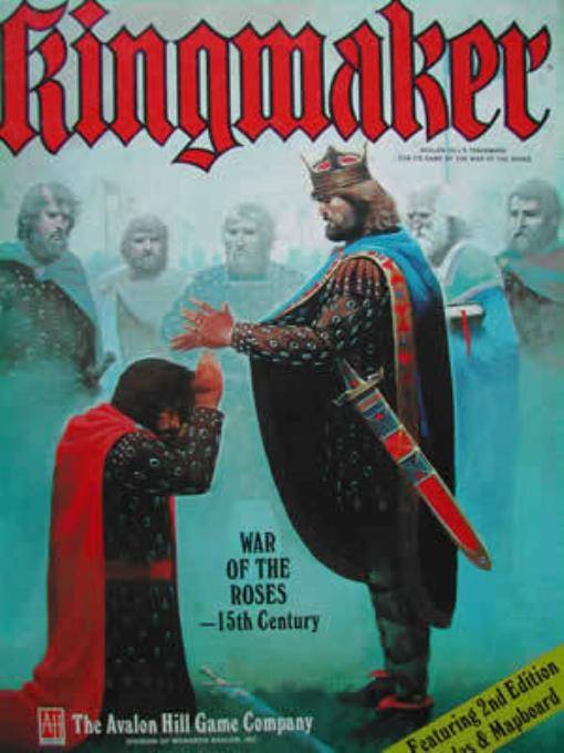 Kingmaker (2nd Edition) Lightly Used by Avalon Hill