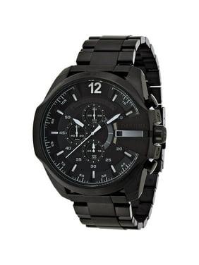 Diesel Men's 52mm Black Steel Bracelet & Case Quartz Analog Watch DZ4283