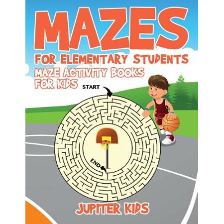 Mazes for Elementary Students : Maze Activity Books for Kids - Halloween For Esl Students