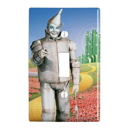 Wizard of Oz Tin Man Character Plastic Wall Decor Toggle Light Switch