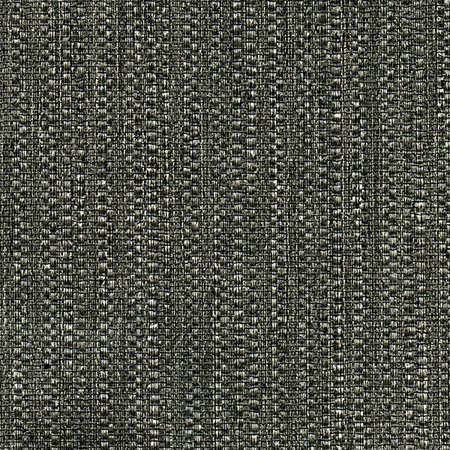 Warner Textures Biwa Black Vertical Weave Wallpaper (Black Texture)