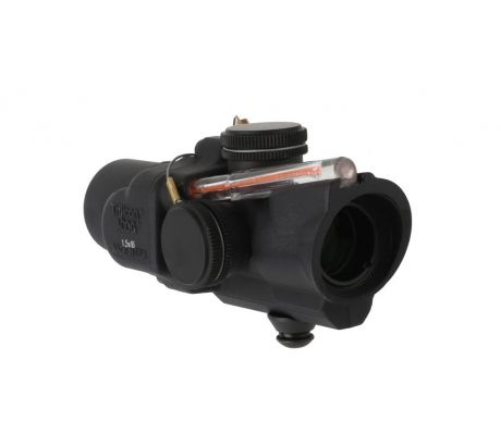 Trijicon ACOG Compact 1.5X16S Riflescope with Red ACSS Reticle and Low Base, BLA by