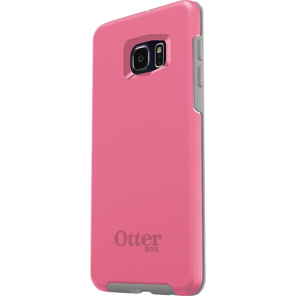 purchase cheap dc3e2 adfba (Refurbished) OtterBox SYMMETRY SERIES Samsung Galaxy S6 Edge Plus - Pink  Pebble