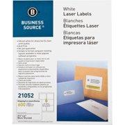 Business Source Bright White Premium-quality Address Labels
