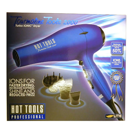 Hot Tools Blue Tourmaline Tools 2000 Turbo Ionic Dryer