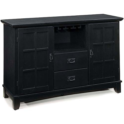 Home Styles Arts & Crafts Buffet, Ebony