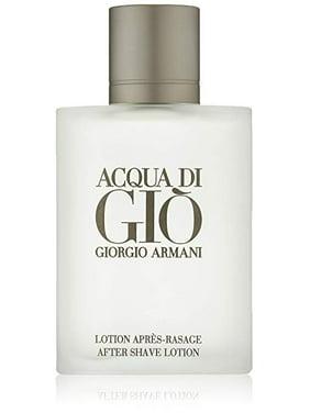 Giorgio Armani Acqua Di Gio After Shave Lotion for Men, 3.4 Oz