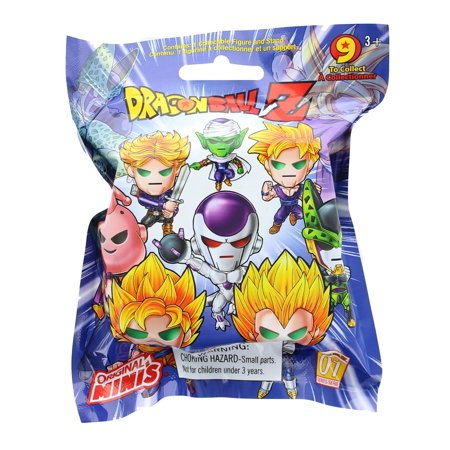 Dragon Ball Z Series 1 Blind Bagged Mystery Mini Figure - One (Z Series Overshoe)