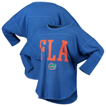 Florida Gators Women's Codes Vintage 3/4-Sleeve Striped Jersey T-Shirt -