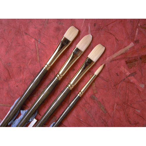 Princeton Art & Brush  Series 6300 Synthetic Bristle Acrylic & Oil Brush