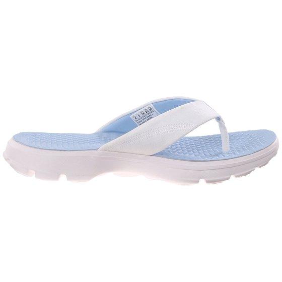 7c5548bb0a4c Skechers - Skechers Performance Womens Go Walk Pizazz Flip-Flop -  Walmart.com