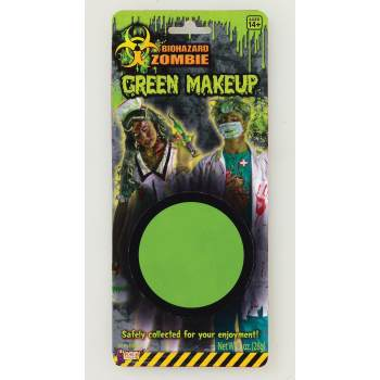 BIOHAZARD ZOMBIE GREEN MAKEUP - Simple Halloween Makeup Zombie