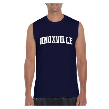 Knoxville in Tennessee Men Ultra Cotton Sleeveless T-Shirt (Halloween Stores In Knoxville Tn)