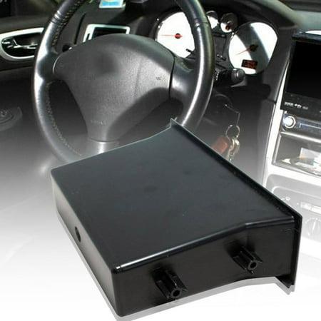 Single Pocket Fascia Din Car Vehicle Radio Cd Storage Box for Nissan - image 4 de 6