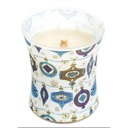 VANILLA BEAN - Decal Hourglass 10 oz WoodWick Scented Jar - 10 Ounce Jar Candle