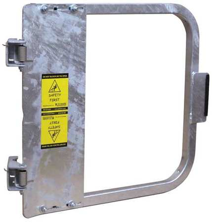 PS DOORS LSG-27-GAL Safety Gate, 25-3/4 to 29-1/2 In, Steel