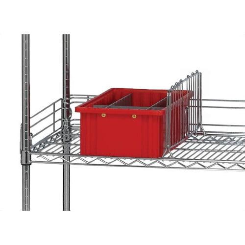 Quantum Storage Q-Stor Wire Shelving Shelf Dividers (Set of 8)