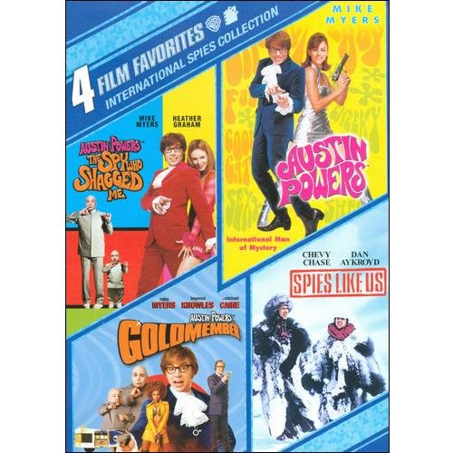 International Spies Collection: 4 Film Favorites
