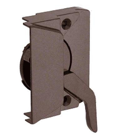 CRL EP23044 Bronze Left Hand Casement Window Lock with 2-3/8