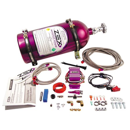 Zex 82021 EFI Wet; Nitrous System Kit (Zex Dry Nitrous Kit)