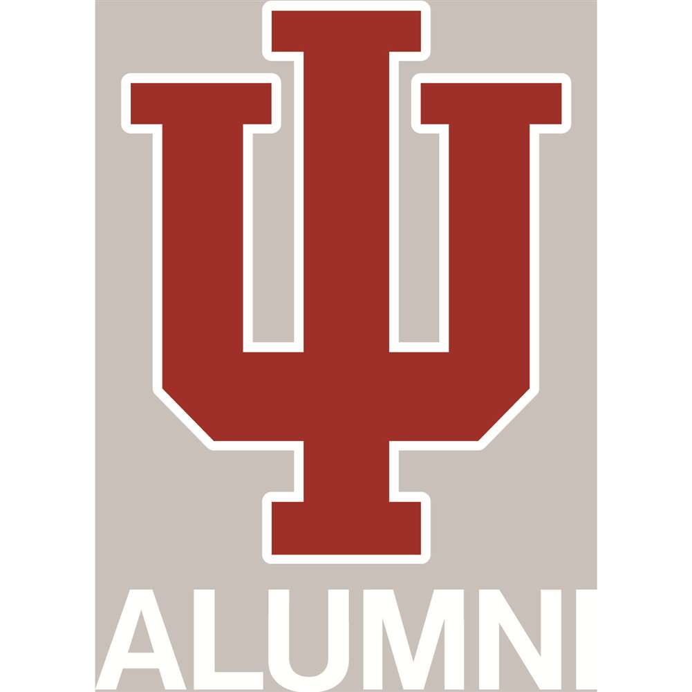 Indiana Hoosiers Transfer Decal - Alumni