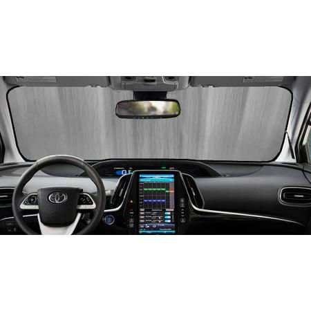 Sunshade for Toyota Prius Prime Plugin Liftback With Windshield Sensor 2017 2018 2019 Custom Fit Windshield (Best Delay Plugin 2019)