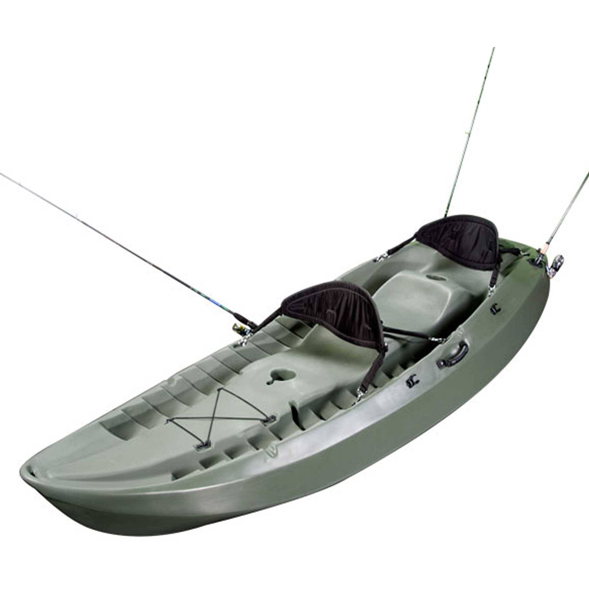 Click here to buy Lifetime Sport Fisher Angler 100 Kayak (Paddles and 2 Backrests Included), 90121 by Lifetime Products.