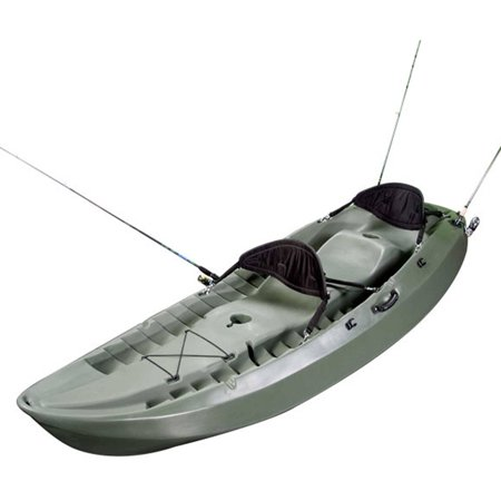 Lifetime Sport Fisher 10' Sit On Top Fishing Kayak with 2 Paddles