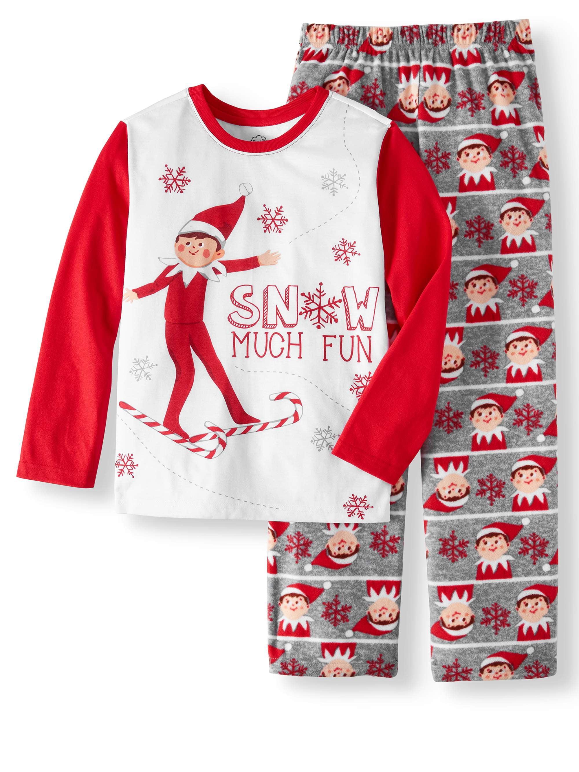 Elf On The Shelf Christmas 2 Piece Pajama Sleep Set (Little Boy   Big Boy c5932a9b8