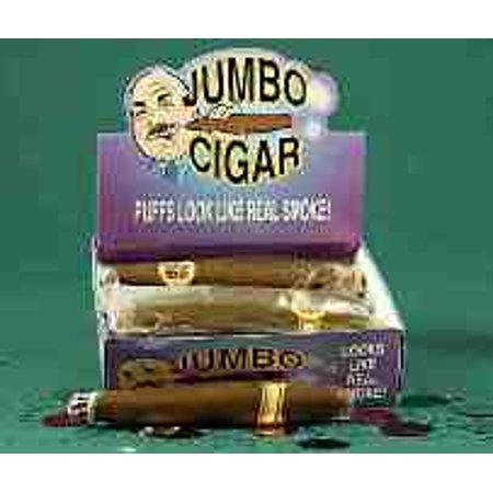 JUMBO FAKE CIGAR-12/DISPLAY 12 PACK - Halloween Fake Body Parts