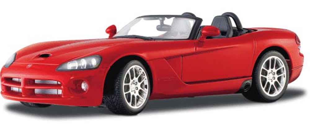 Dodge Viper SRT10 Convertible, Red Maisto 31632 1 18 Scale Diecast Model Toy Car by Maisto