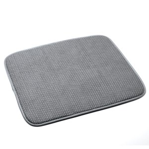 Norpro Dish Drying Mat, Gray
