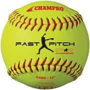 "Champro 12"" ASA .47 COR Fastpitch Softball (Dozen) by Champro"