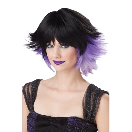 Fantasia Costume Wig (Black/Purple/Lavender)