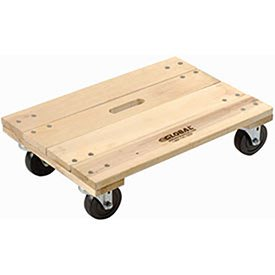 Hardwood Dolly - Solid Deck, 36 x 24, 1200 Lb. Capacity, Lot of 1